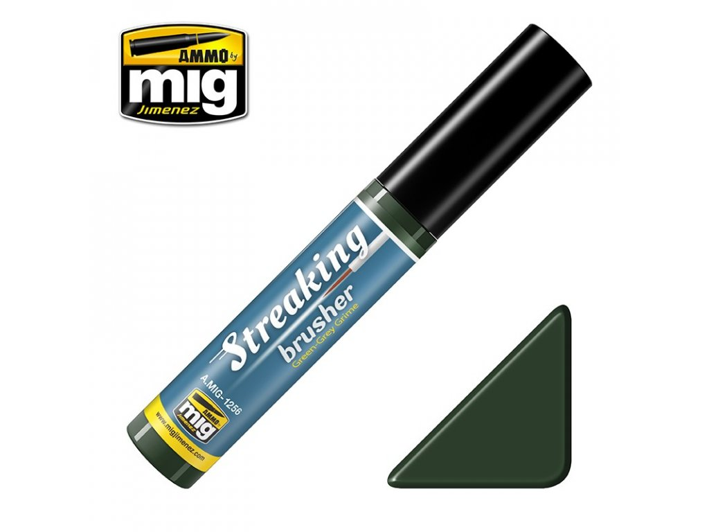 streakingbrusher green grey grime