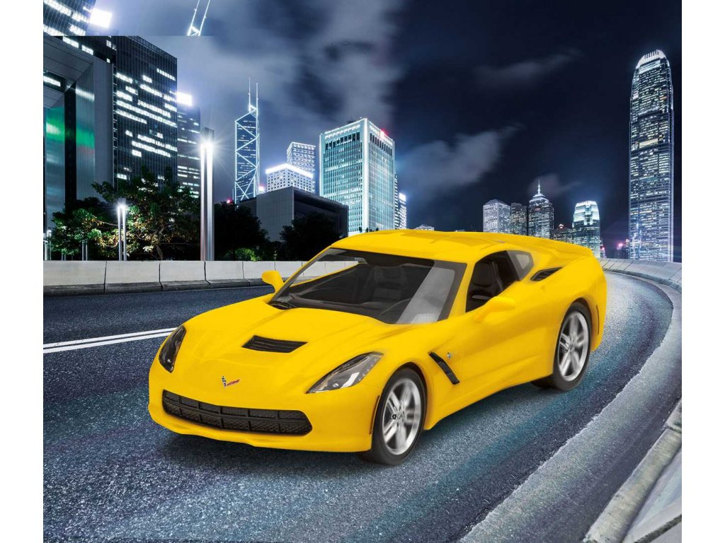 ModelSet EasyClick auto 67449 2014 Corvette Stingray 1 25 a101874959 10374