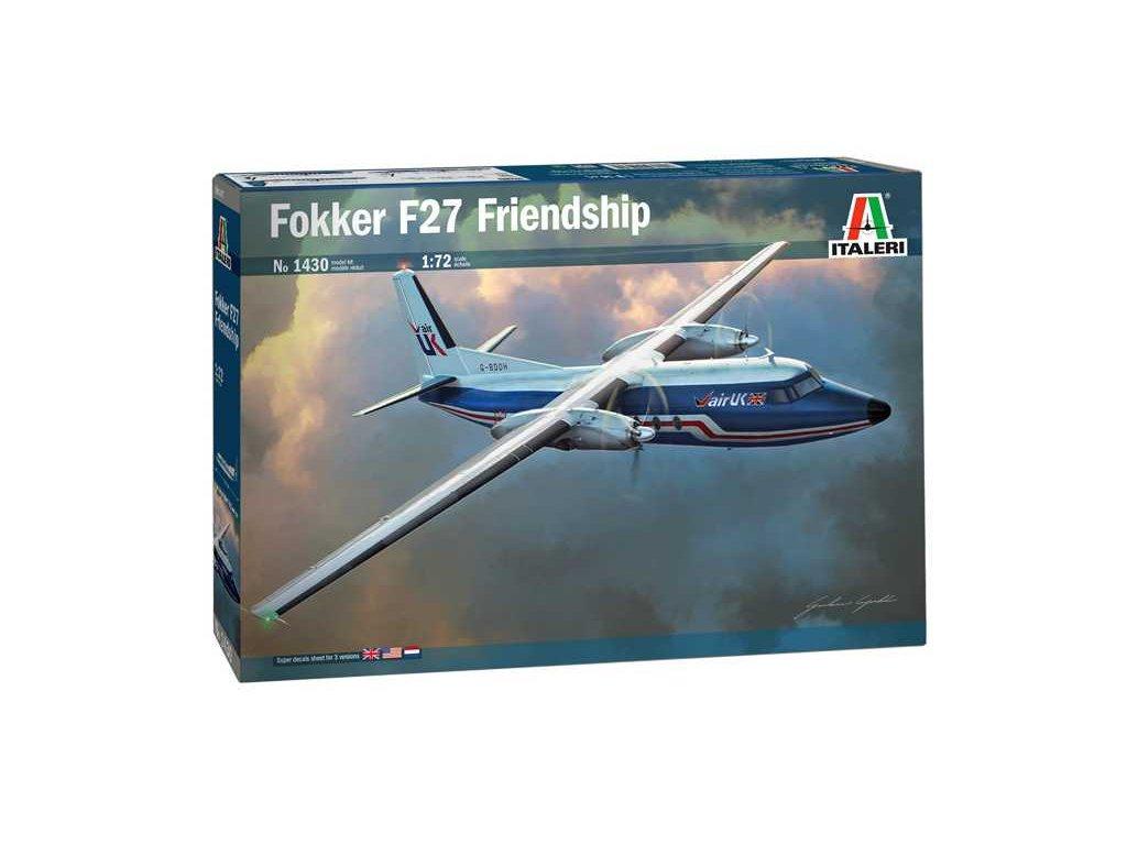 Model Kit letadlo 1430 Fokker F 27 Friendship 1 72 a100677557 10374