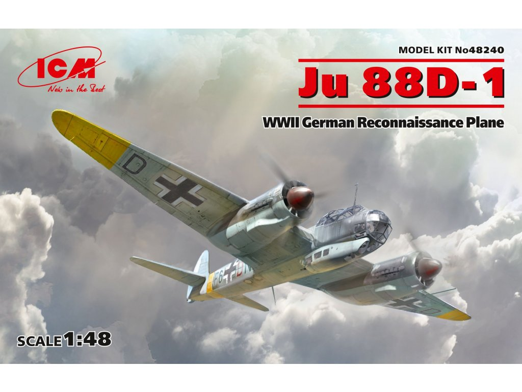 Ju 88D-1,WWII German ReconnaissancePlane 1:48