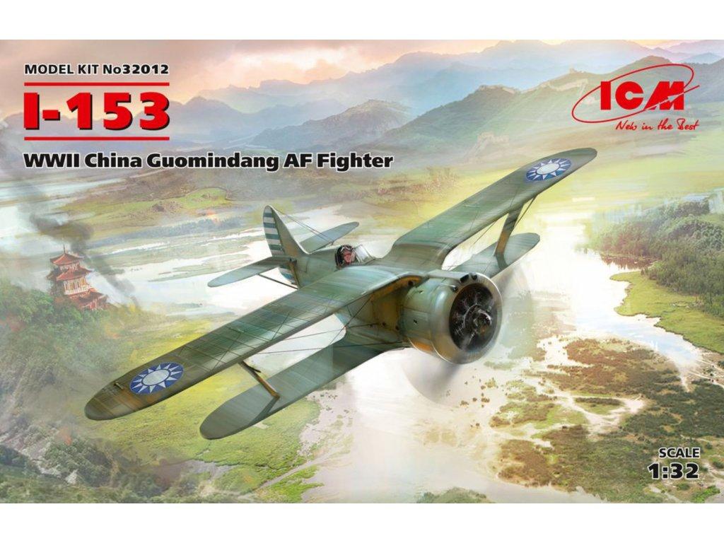I-153, WWII China Guomindang AF Fighter 1:32