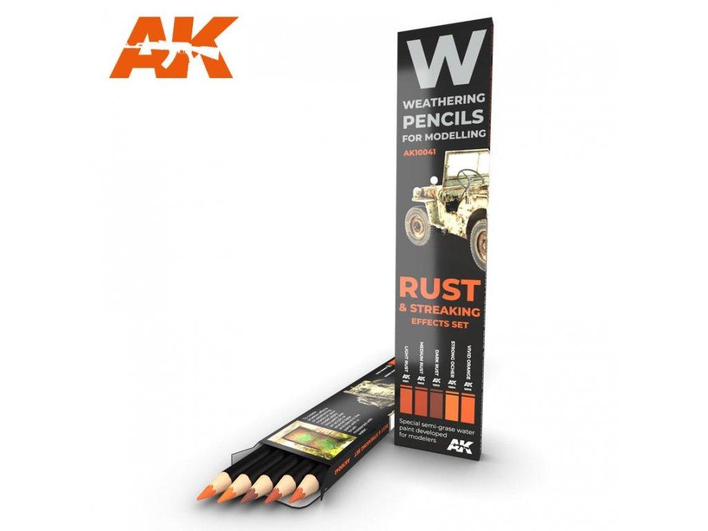 AK10041 weathering pencils
