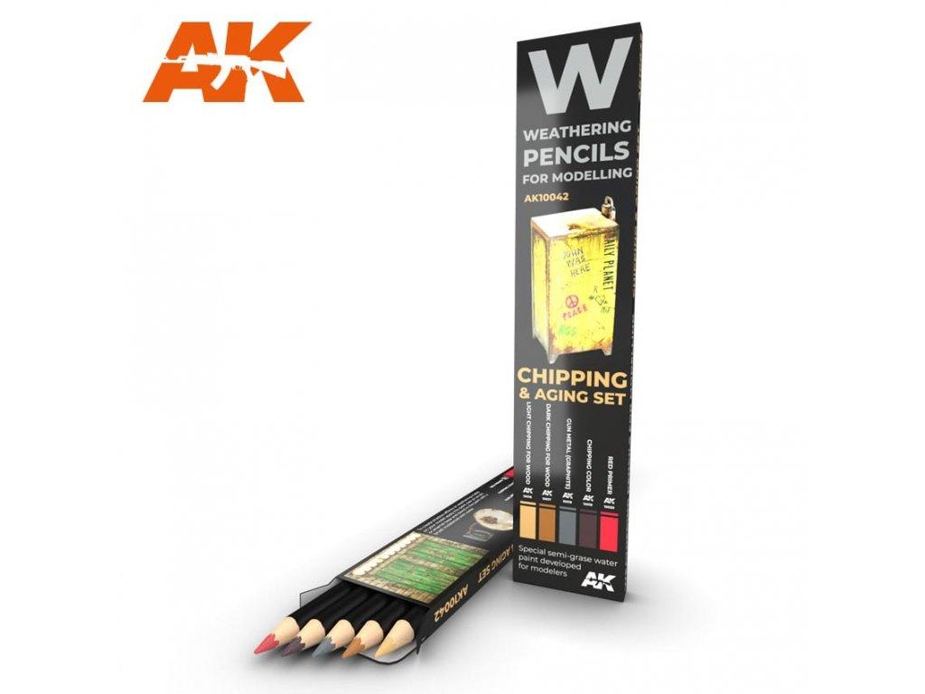 AK10042 weathering pencils