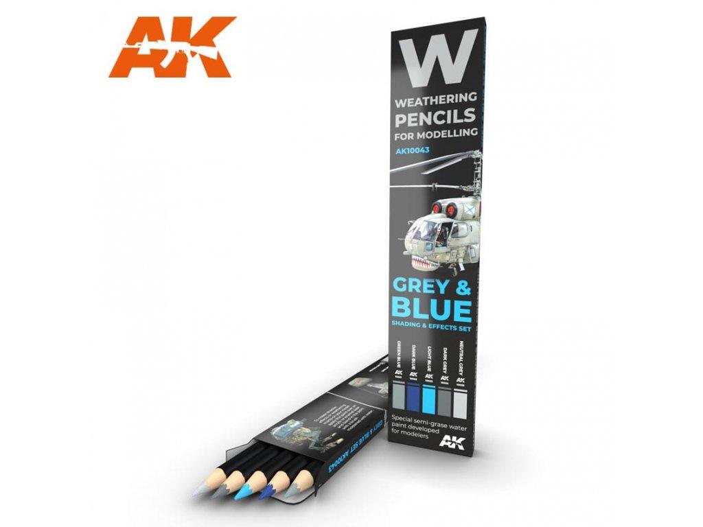 AK10043 weathering pencils