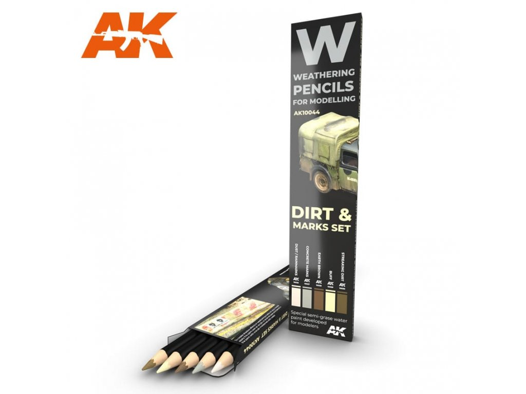 AK10044 weathering pencils