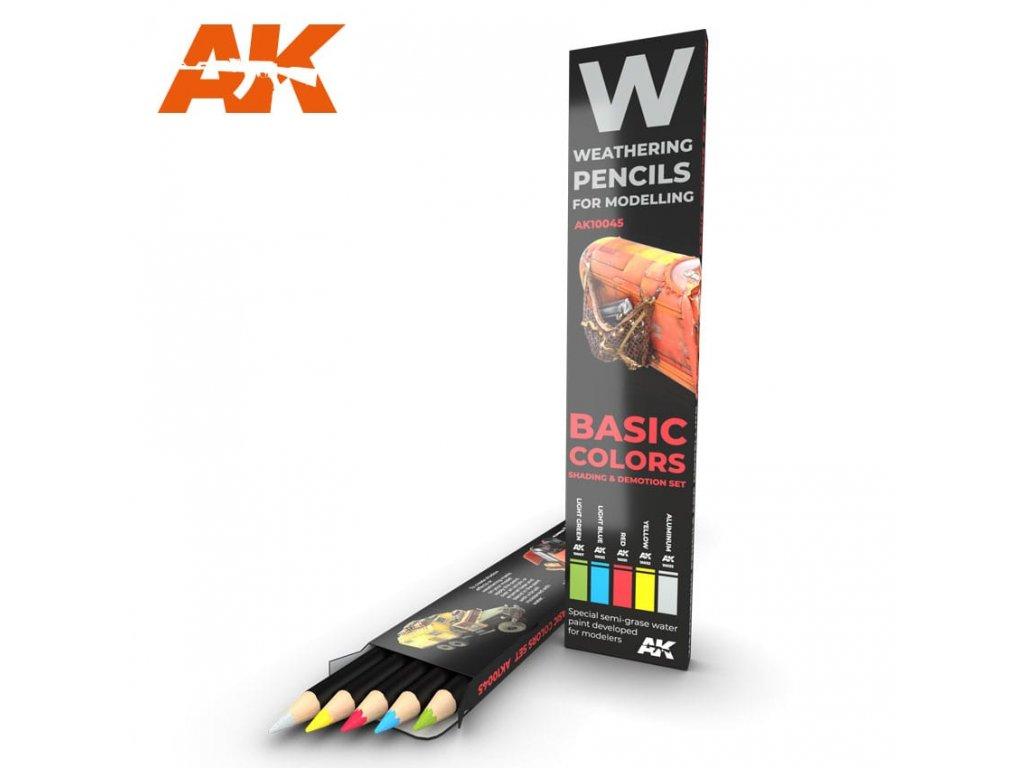 AK10045 weathering pencils