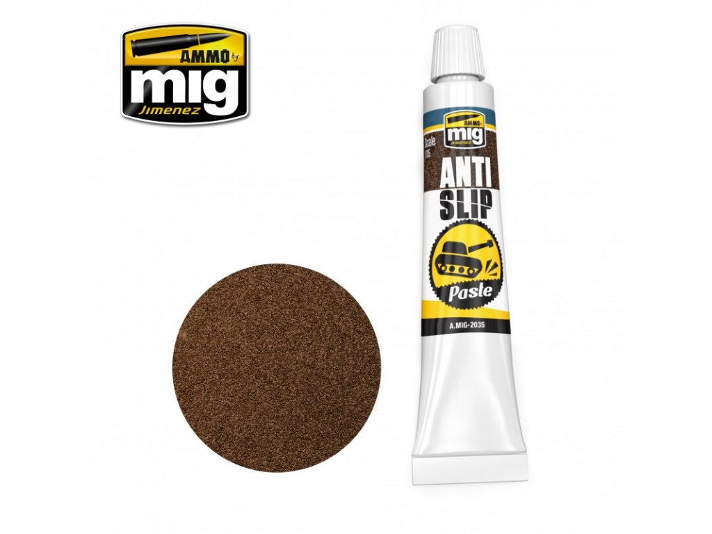 anti slip paste brown color for 135