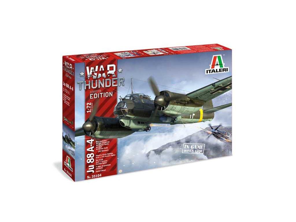 Model Kit War Thunder 35104 JU 88 A 4 1 72 a100677463 10374
