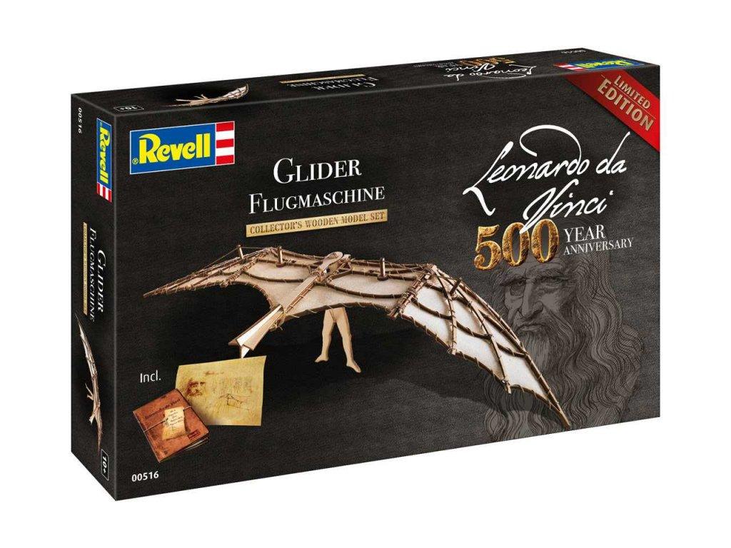 Leonardo edice 00516 Glider Leonardo da Vinci 500th Anniversary 1 8 a99287278 10374