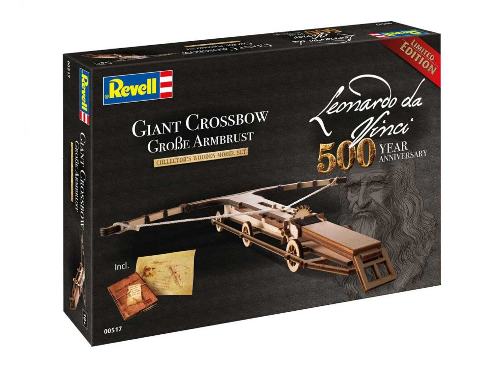Leonardo edice 00517 Giant Crossbow Leonardo da Vinci 500th Anniversary 1 100 a99287295 10374