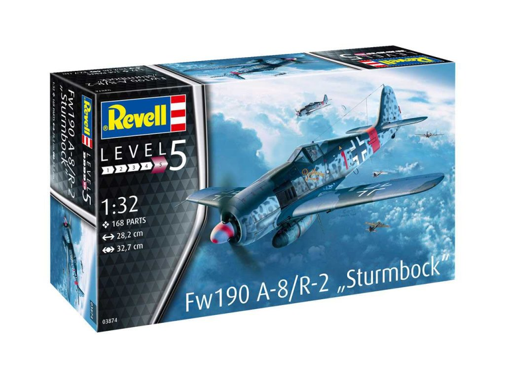Plastic ModelKit letadlo 03874 Fw190 A 8 Sturmbock 1 32 a99289342 10374