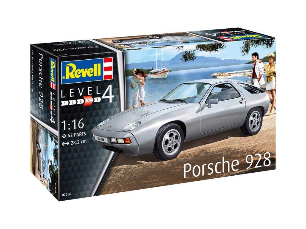 Plastic ModelKit auto 07656 Porsche 928 1 16 a99290737 10374