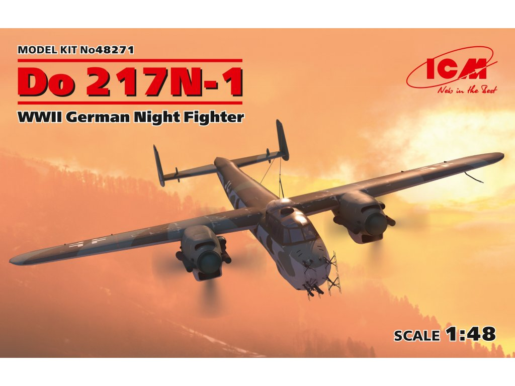 Do 217N-1,WWII German Night Fighter 1:48