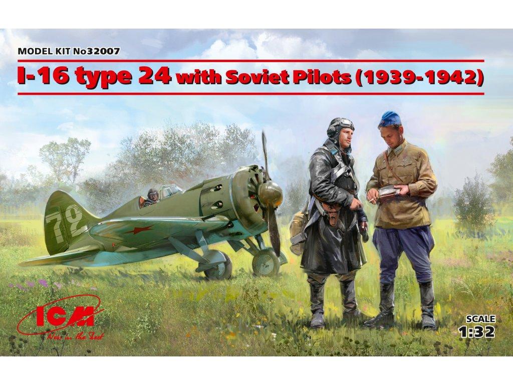 I-16 type 24 with Soviet Pilots (1939-42) 1:32