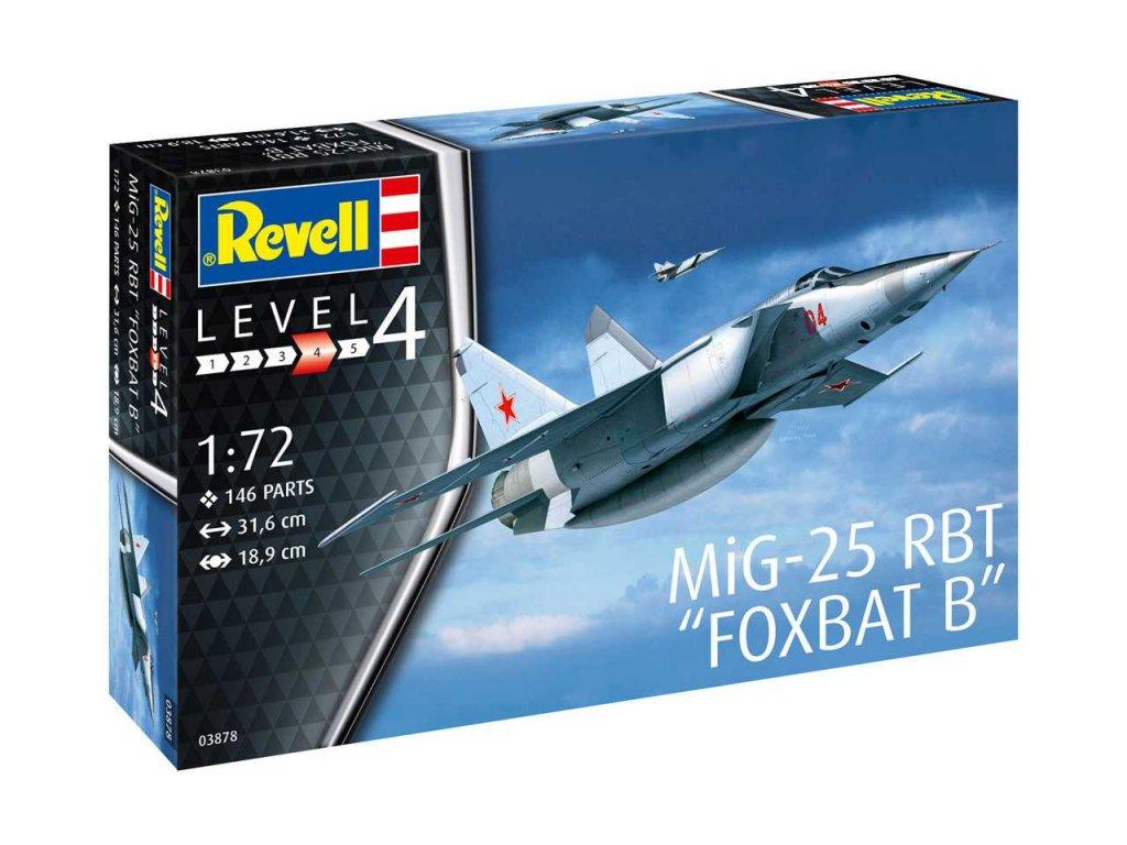 Plastic ModelKit letadlo 03878 MiG 25 RBT 1 72 a99289519 10374