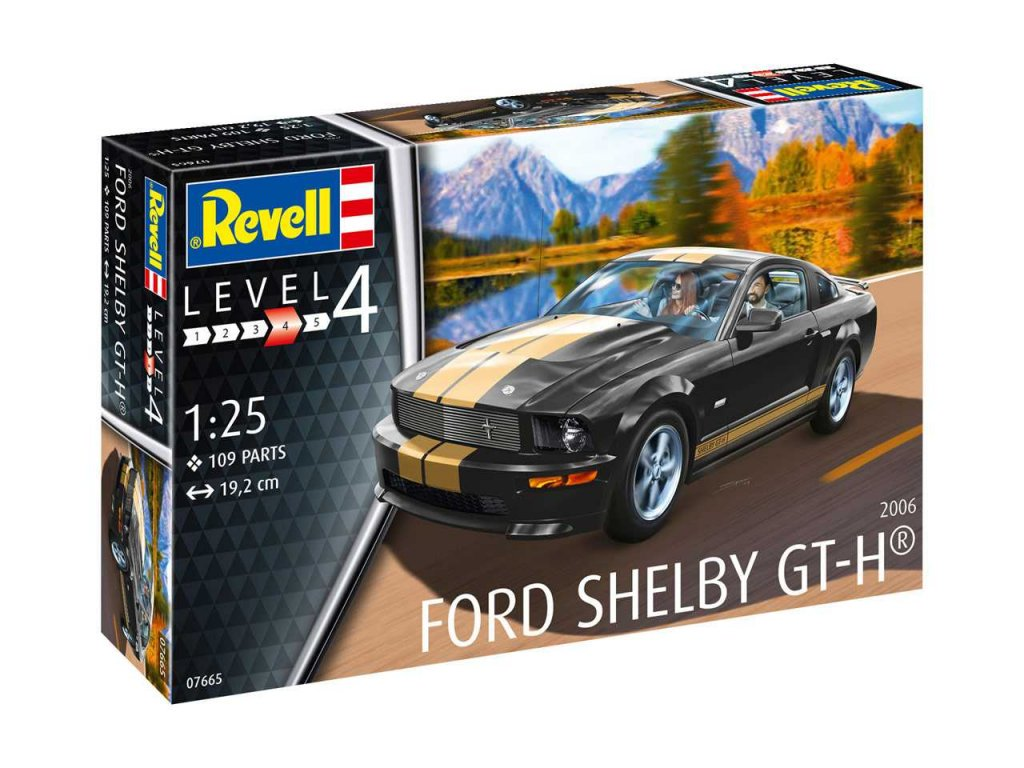 Plastic ModelKit auto 07665 Shelby GT H 2006 1 25 a99290517 10374