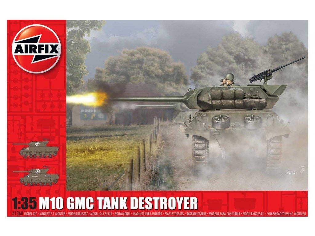 Classic Kit tank A1360 M10 GMC U S Army 1 35 a99098655 10374