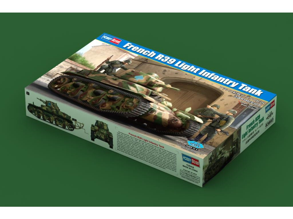 French R39 Light Infantry Tank 1:35