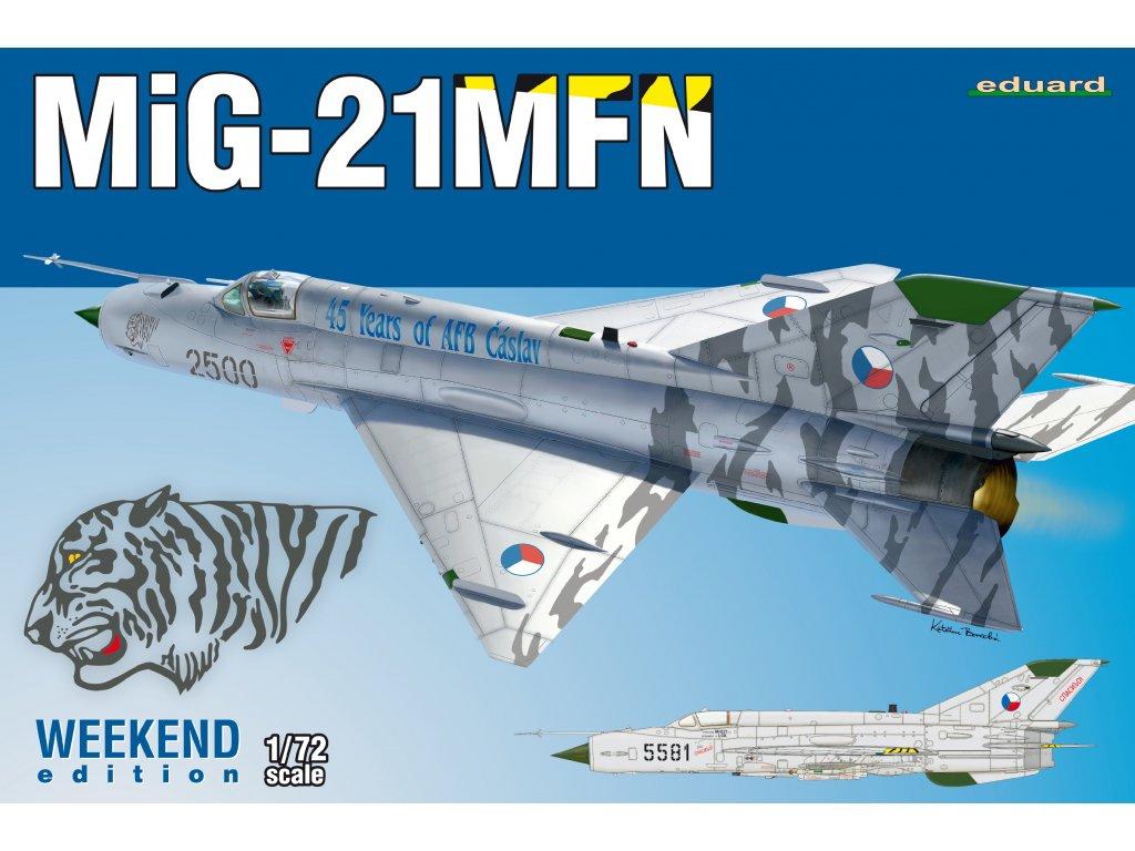 MiG-21MFN 1:72