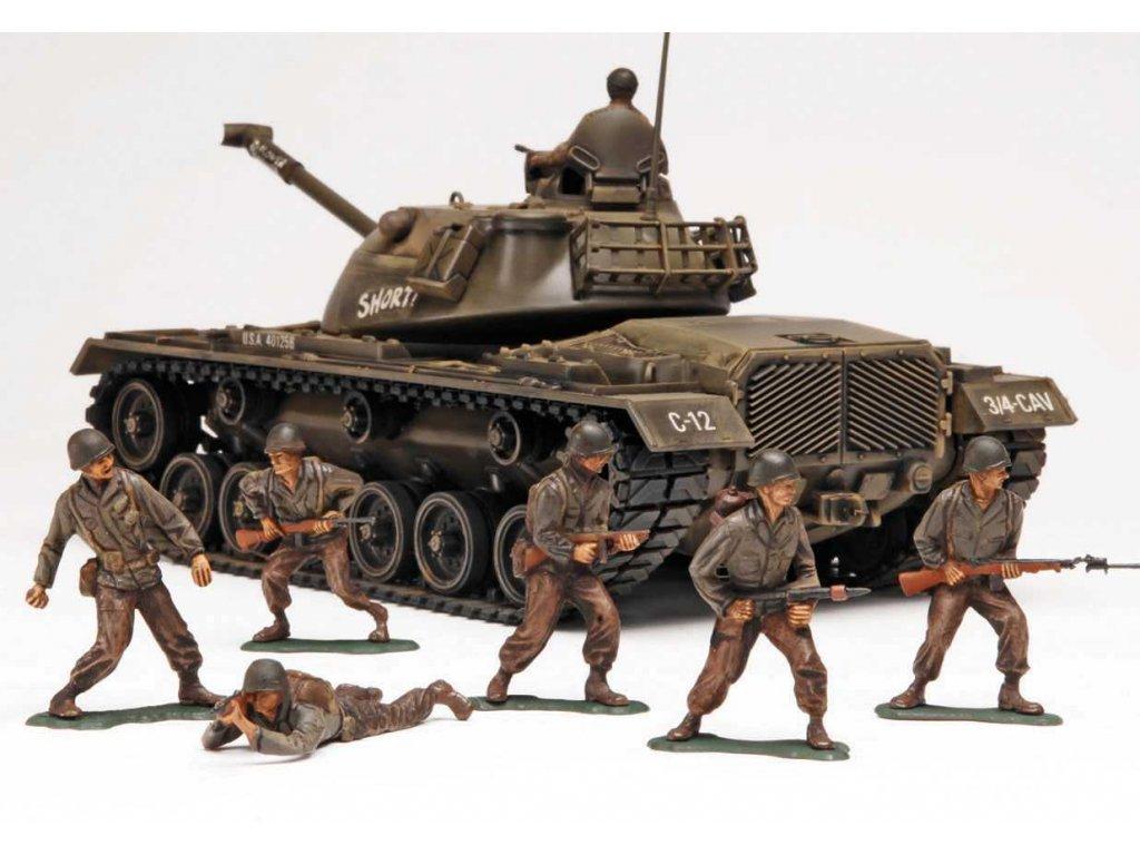 Plastic ModelKit MONOGRAM tank 7853 M 48 A2 Patton Tank 1 35 a100249172 10374