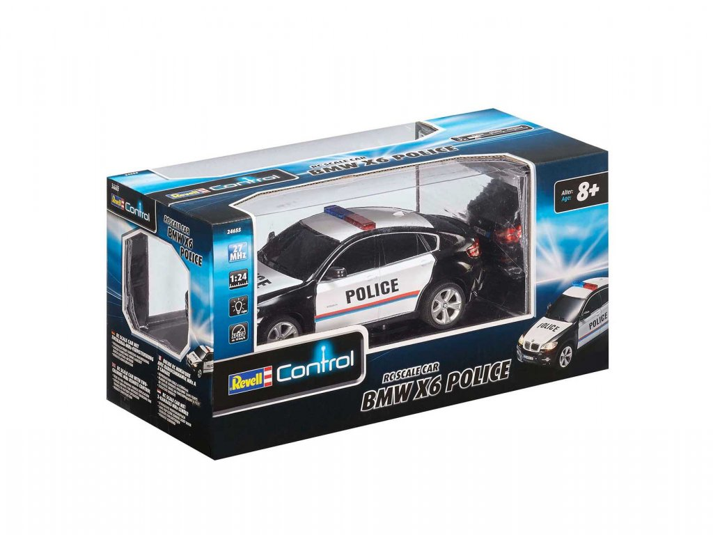 Auticko REVELL 24655 BMW X6 Police a64530285 10374