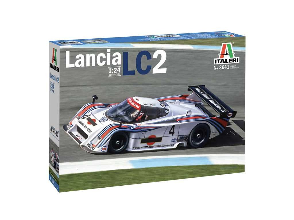 Model Kit auto 3641 Lancia LC2 1 24 a100677925 10374