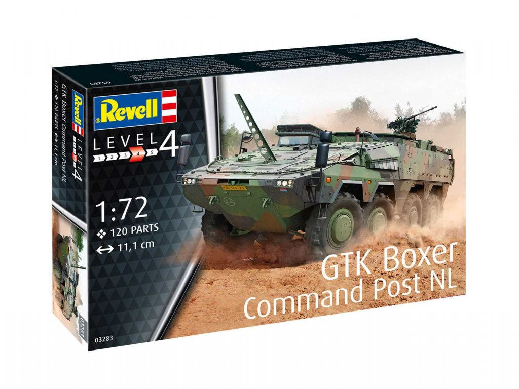 Plastic ModelKit military 03283 GTK Boxer Command Post NL 1 72 a99291388 10374
