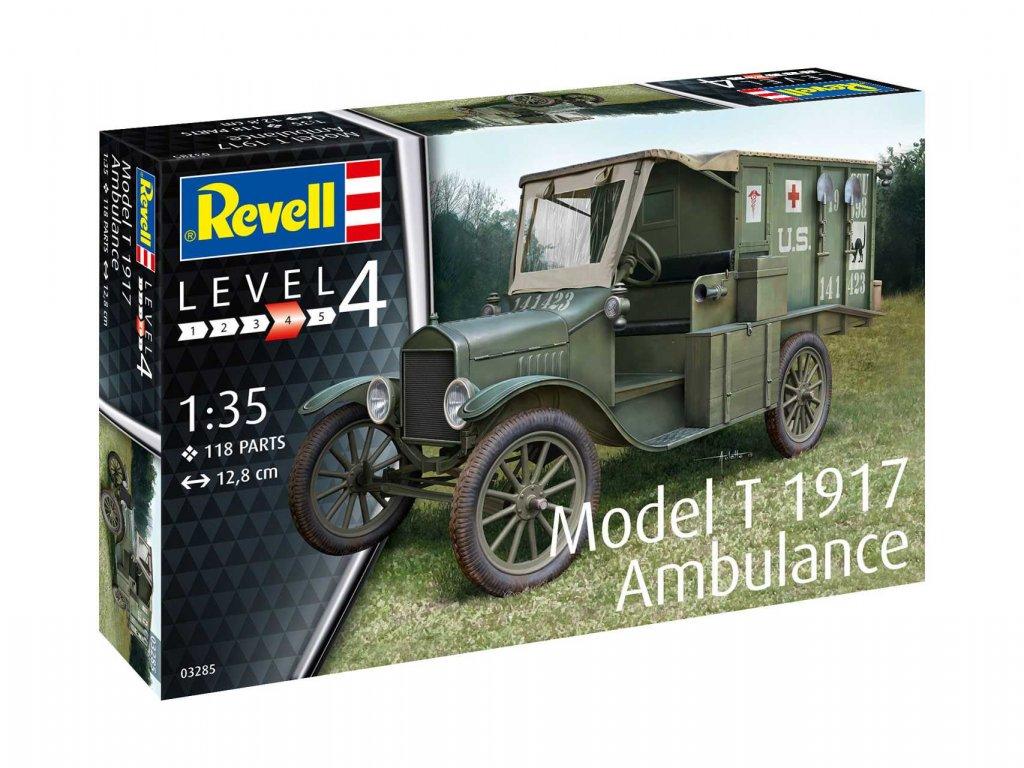 Plastic ModelKit military 03285 Model T 1917 Ambulance 1 35 a99291441 10374