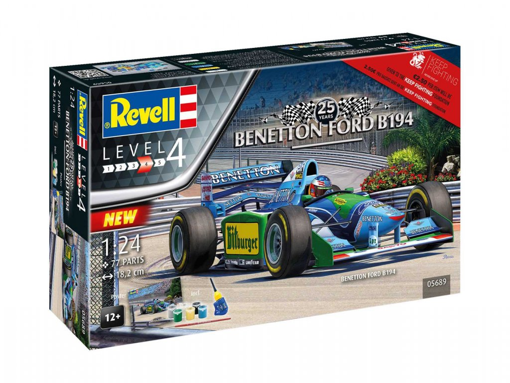 Gift Set auto 05689 25th Anniversary Benetton Ford 1 24 a99951292 10374