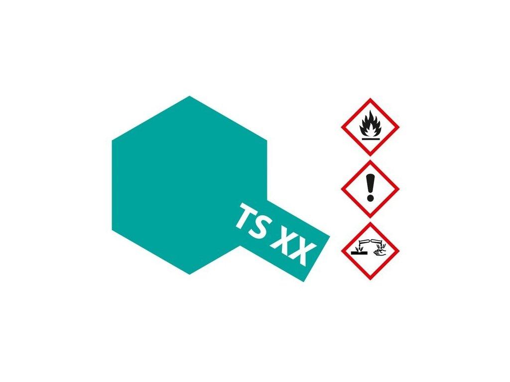 TS-XX Cobalt Green / kobaltová zelená lesklá