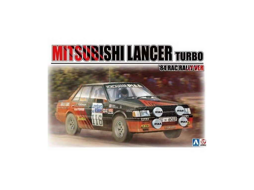 1984 Mitsubishi Lancer 2000 Turbo No.116 1:24