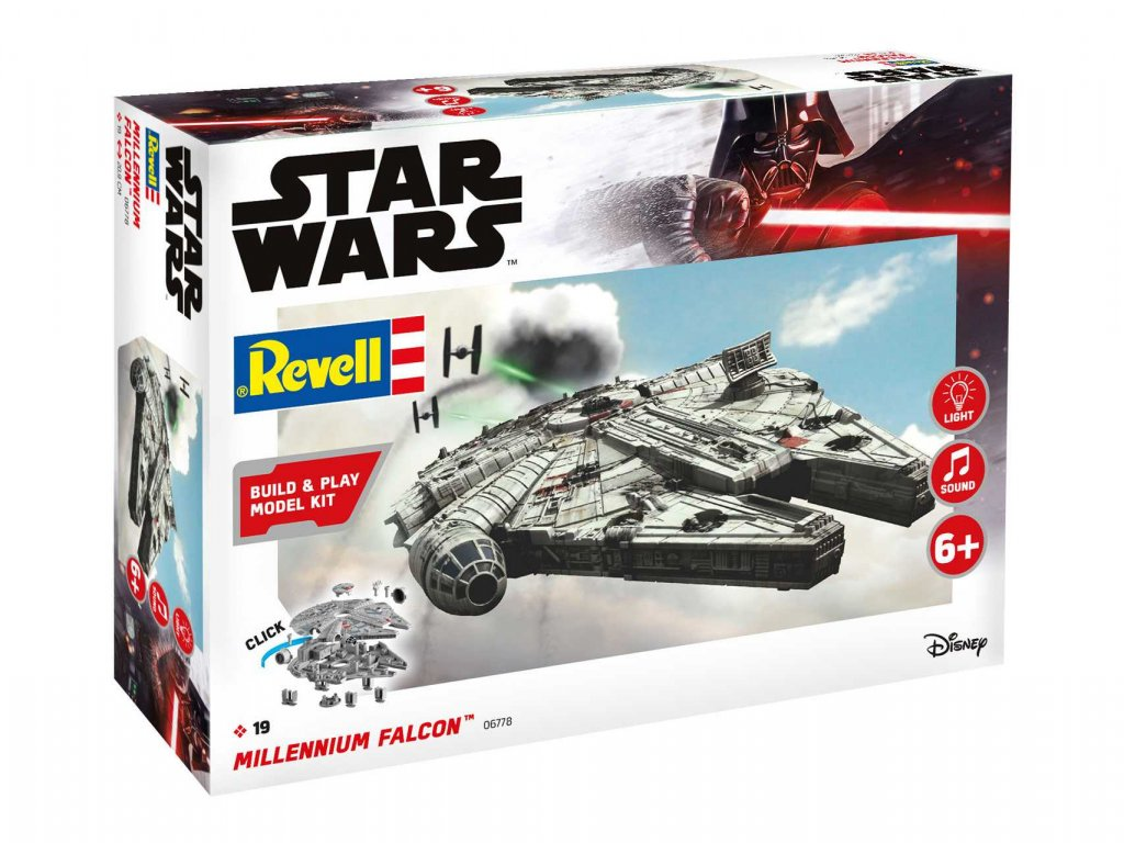 Build Play SW 06778 Millennium Falcon svetelne a zvukove efekty 1 164 a103408567 10374