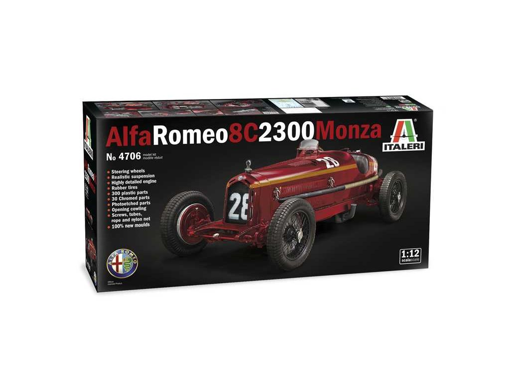 Model Kit auto 4706 ALFA ROMEO 8C 2300 Monza 1 12 a100677868 10374