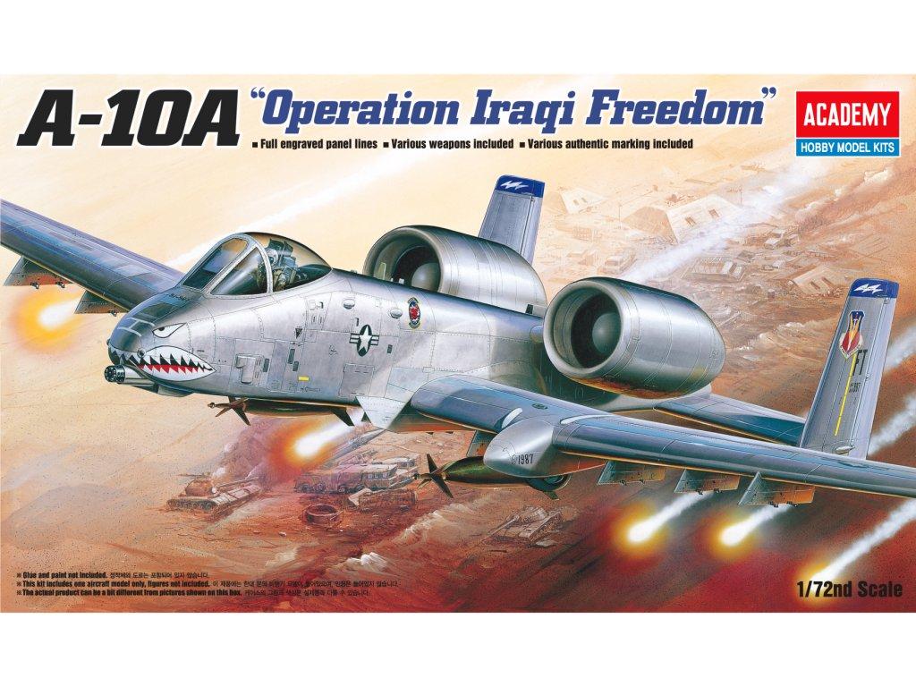 Model Kit letadlo 12402 A 10A OPERATION IRAQI FREECOM 1 72 a105829688 10374