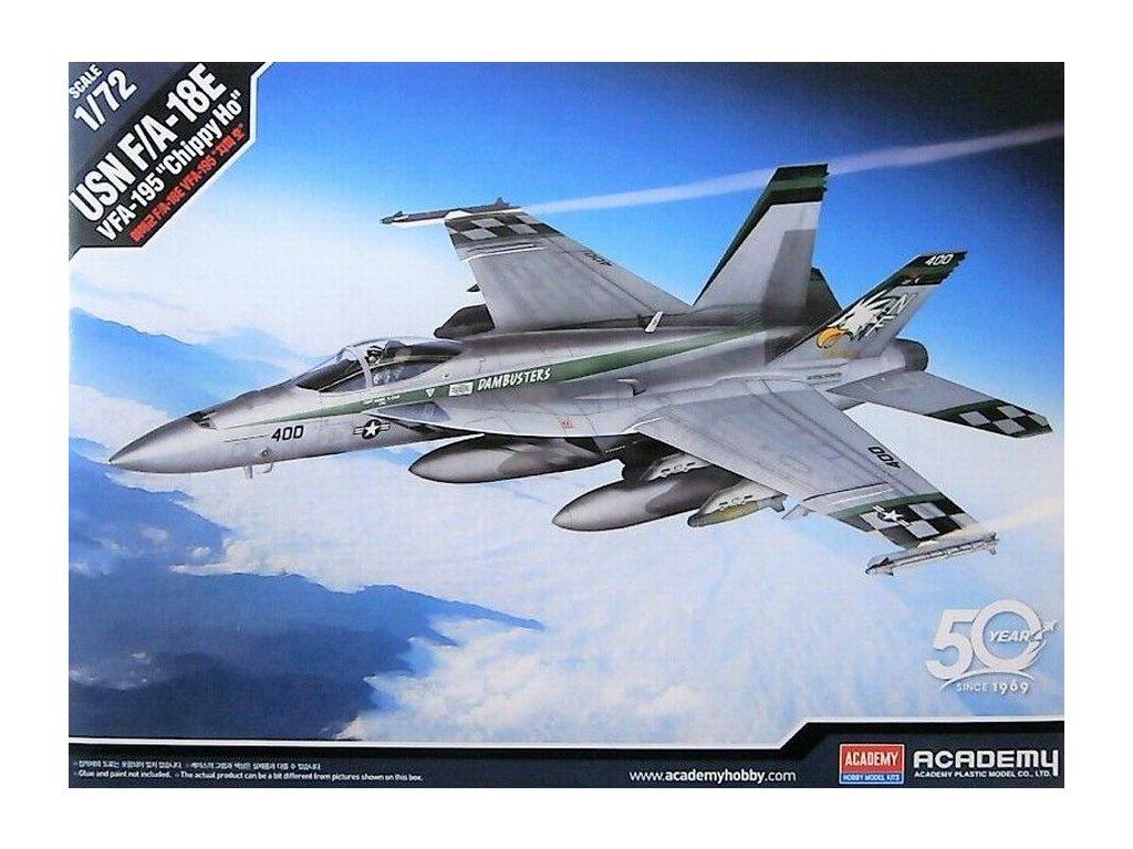 """USN F/A-18E """"VFA-195 Chippy Ho"""" 1:72"""