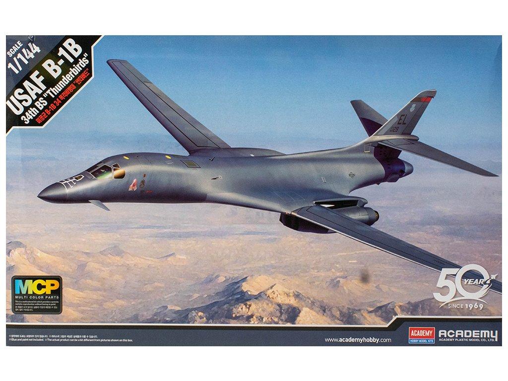 """USAF B-1B 34th BS """"Thunderbirds"""" MCP 1:144"""