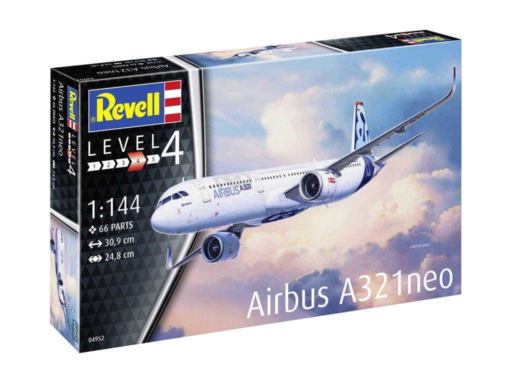 Plastic ModelKit letadlo 04952 Airbus A321 Neo 1 144 a75504758 10374
