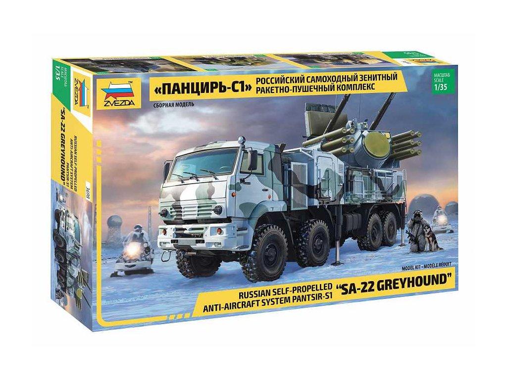 Model Kit military 3698 Panzir S 1 SA 22 Greyhound 1 35 a98929218 10374
