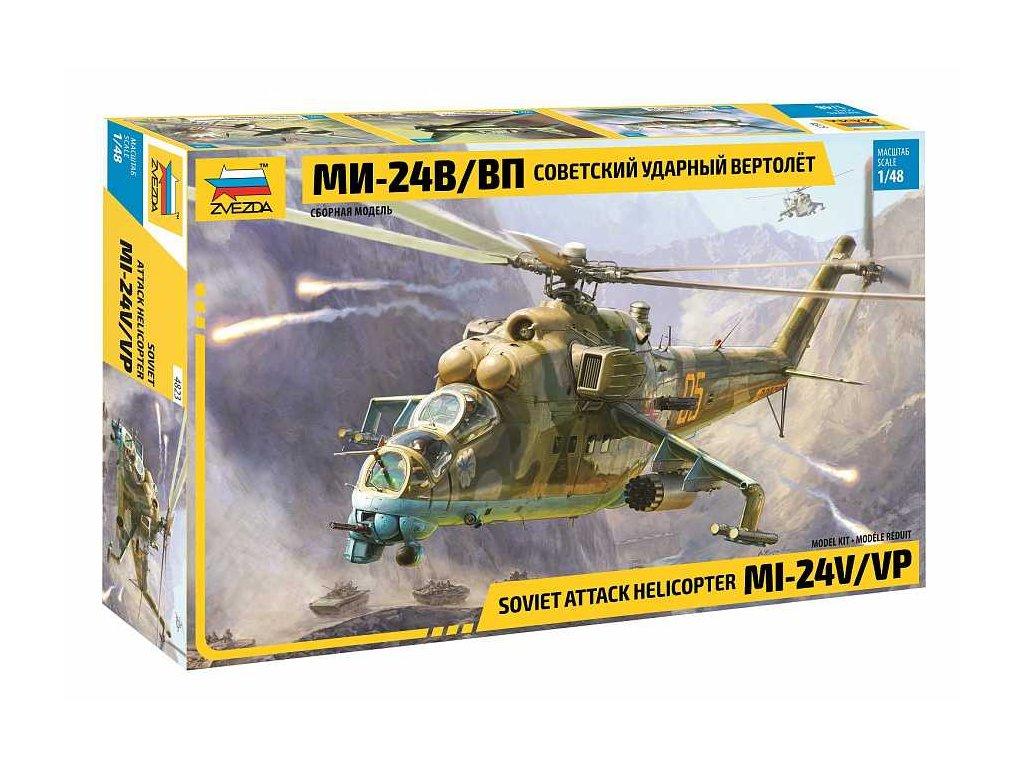 Model Kit vrtulnik 4823 MIL Mi 24 V VP 1 48 a109312515 10374