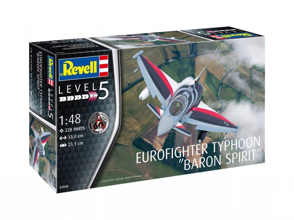 Plastic ModelKit letadlo 03848 Eurofighter Typhoon BARON SPIRIT 1 48 a109308775 10374