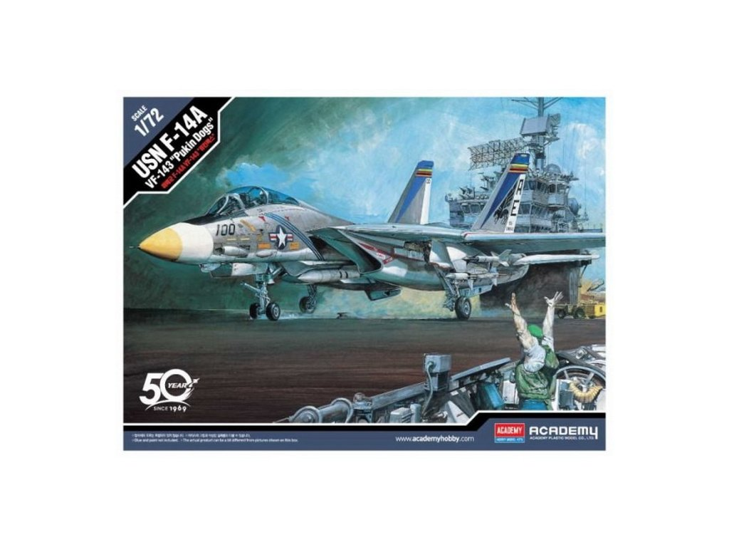 "USN F-14A ""VF-143 Pukin Dogs"" 1:72"