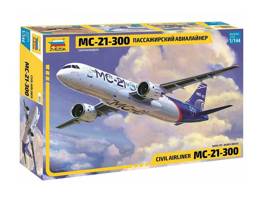 Model Kit letadlo 7033 Civil Airliner MC 21 300 1 144 a109312789 10374