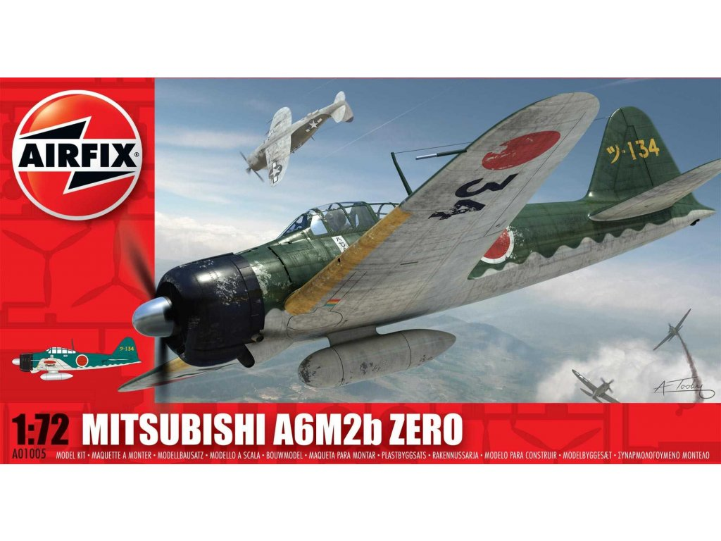 Classic Kit letadlo A01005 Mitsubishi Zero A6M2b 1 72 a56850575 10374