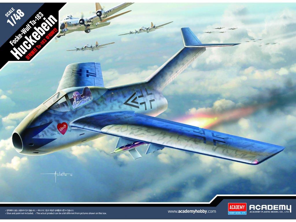 Focke-Wulf Ta-183 Huckebein 1:48