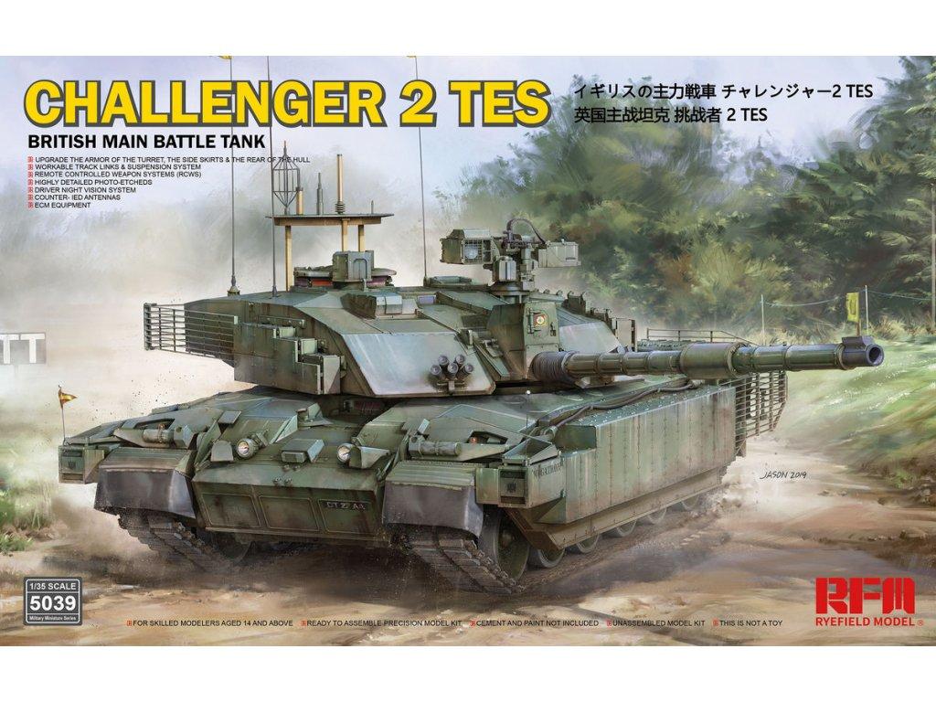 British Main Battle Tank Challenger 2 TES 1:35