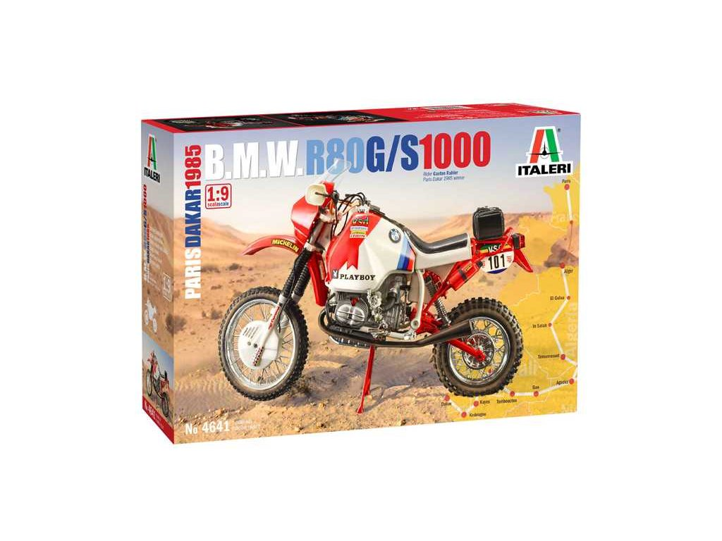 Model Kit motorka 4641 BMW 1000 Dakar 1985 1 9 a110159847 10374