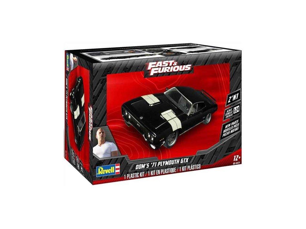 Plastic ModelKit MONOGRAM auto 4477 Dom s 71 Plymouth GTX 1 24 a113214485 10374