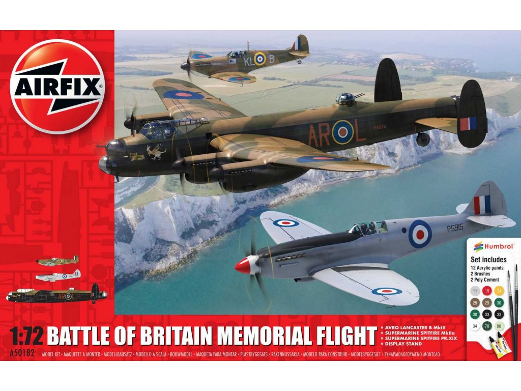 Gift Set letadla A50182 Battle of Britain Memorial Flight 1 72 a109444538 10374