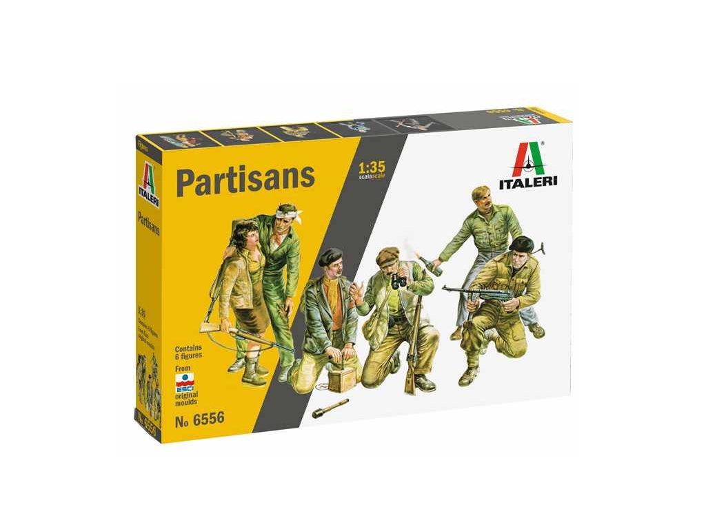 Model Kit figurky 6556 Partisans 1 35 a88793059 10374