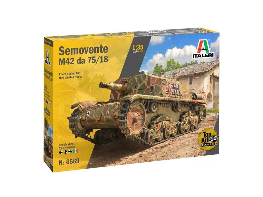 Model Kit military 6569 Semovente M42 da 75 18 1 35 a110159599 10374